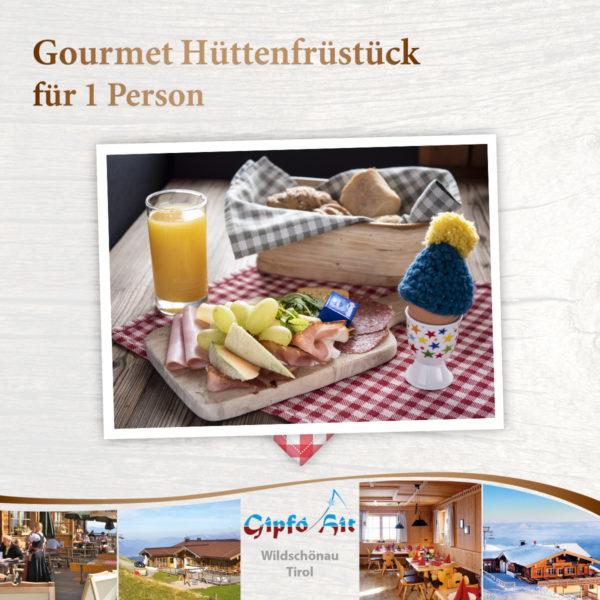 Gourmet Hüttenfrühstück