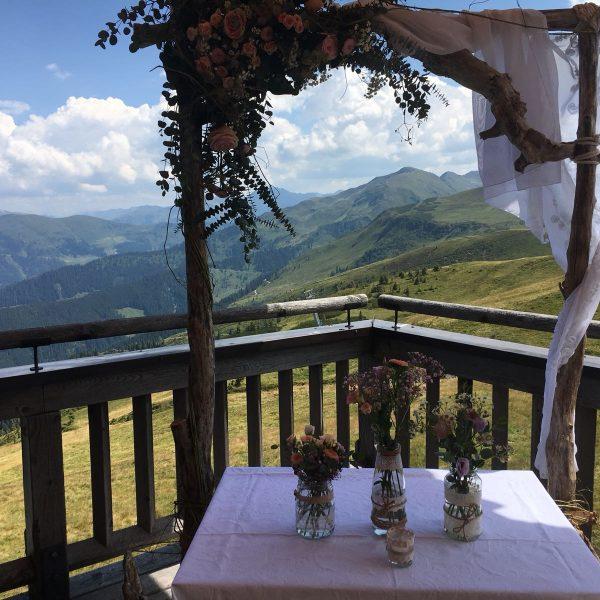 Hochzeit am Berg in Tirol am Schatzberg